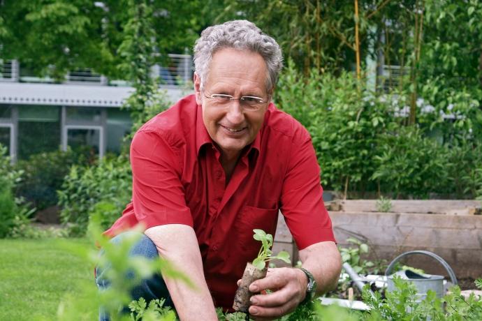 Peter Berg im SWR Garten